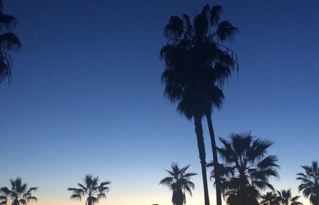 {Sunset in Venice}