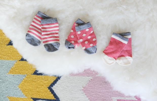 {Teeny tiny socks}