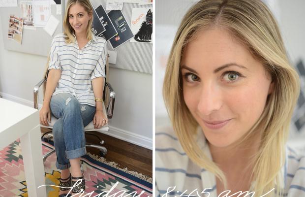 {Zara Shirt, McGuire Jeans(on sale), Dries Van Noten Heels}