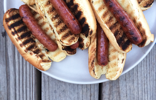 {One last go at summer's greatest hits at a friend's barbecue}