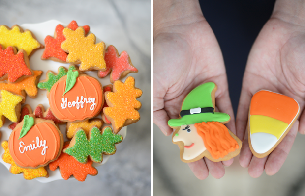 {Festive cookies from Eleni's}