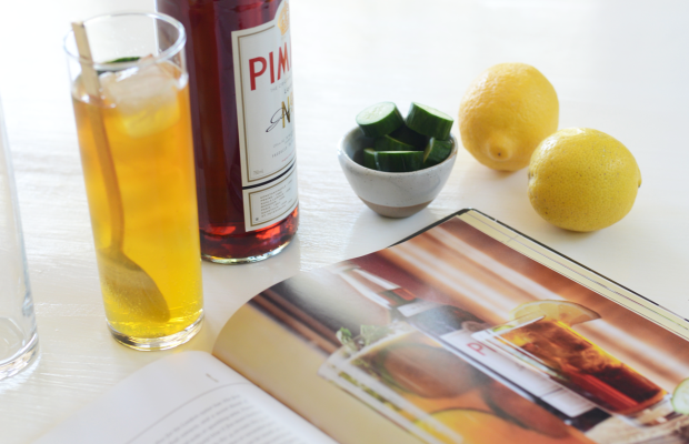 { Late afternoon Pimm's Cup for two}
