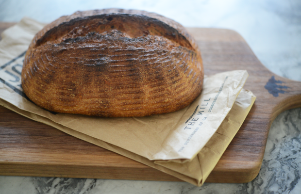 {Bread from a friend, brought back from San Francisco}
