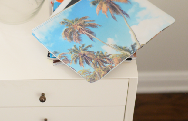 {New favorite (water resistant) palm clutch}