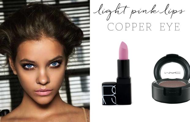 NARS 'Roman Holiday' Lipstick, MAC 'Coppering' Eyeshadow