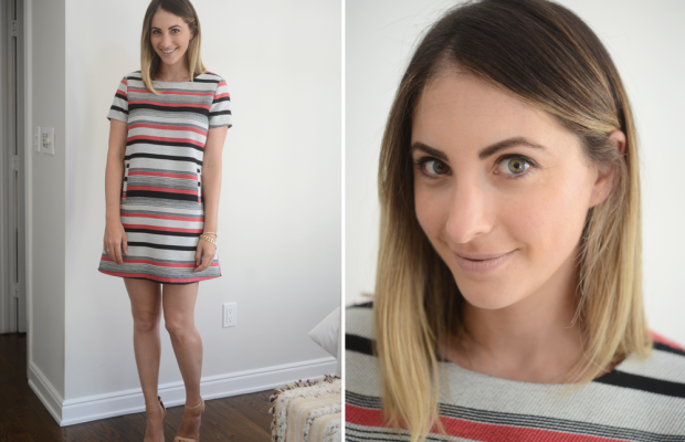 {Monday: Cupcakes and Cashmere Dress, (here andhere) Zara Heels (similar here)}