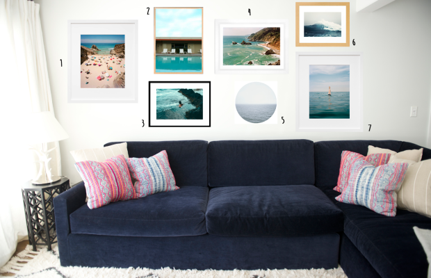 gallery wall images: 1, 2, 3, 4, 5, 6, 7