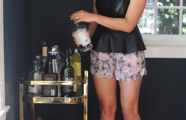H&M Top, Robert Rodriguez Shorts, Zara Sandals