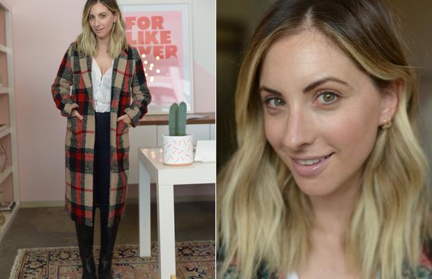 Thursday: LoveShackFancy Top (similar here), Zara Coat (on sale), AG Jeans, Steve Madden Boots (similar here)