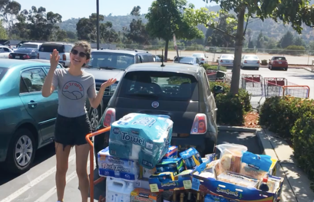 Shout out to the Costco employeewho helped me load my cart into my car that was the size of my cart, and took a picture when I told him it was for a work assignment