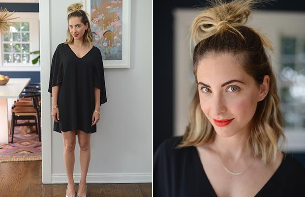 Tuesday: Cupcakes and Cashmere Dress, Zara Shoes, Nars 'Heat Wave' Lipstick