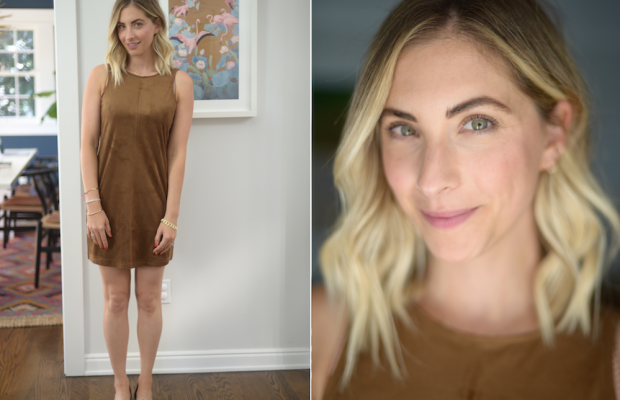 Friday: Cupcakes and Cashmere Dress, Jenni Kayne Flats (similar here)
