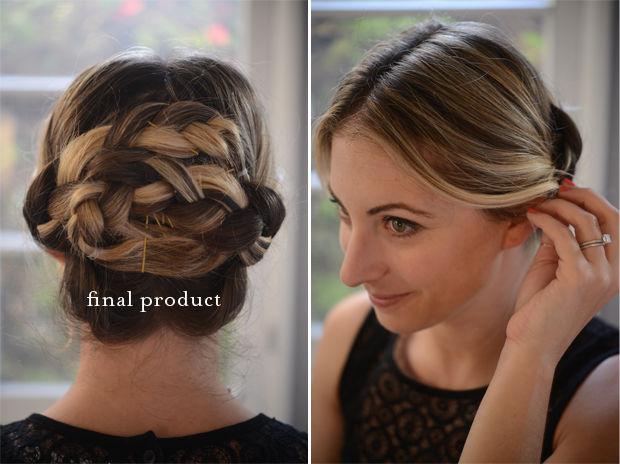 Sensational Braided Hair Updo Tutorial Cupcakes Amp Cashmere Short Hairstyles For Black Women Fulllsitofus