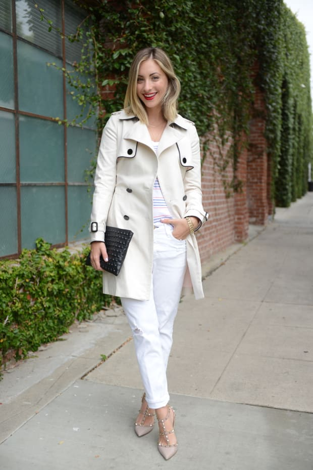 Spring Trench Cupcakes Amp Cashmere