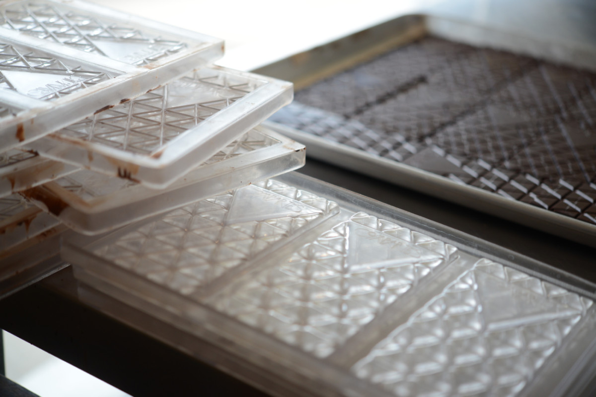 The Compartés chocolate mold.