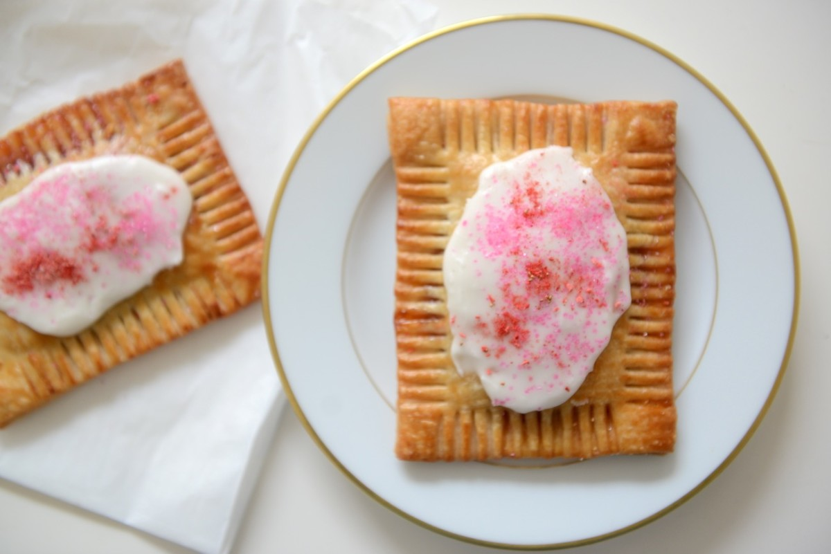 Homemade strawberry Pop-Tarts from Nickel Diner