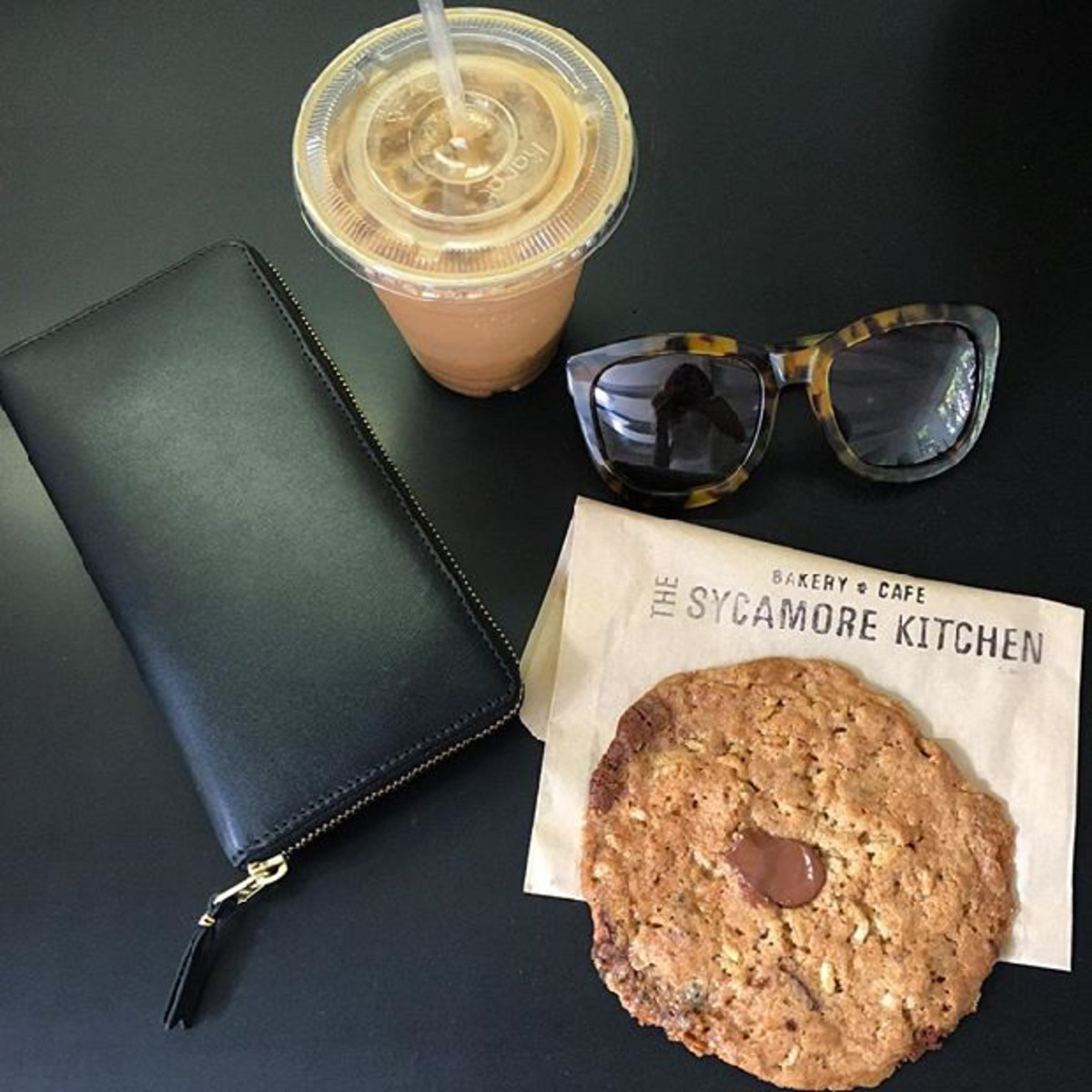 The BEST rye chocolate chip cookie from The Sycamore Kitchen that Emily told me about