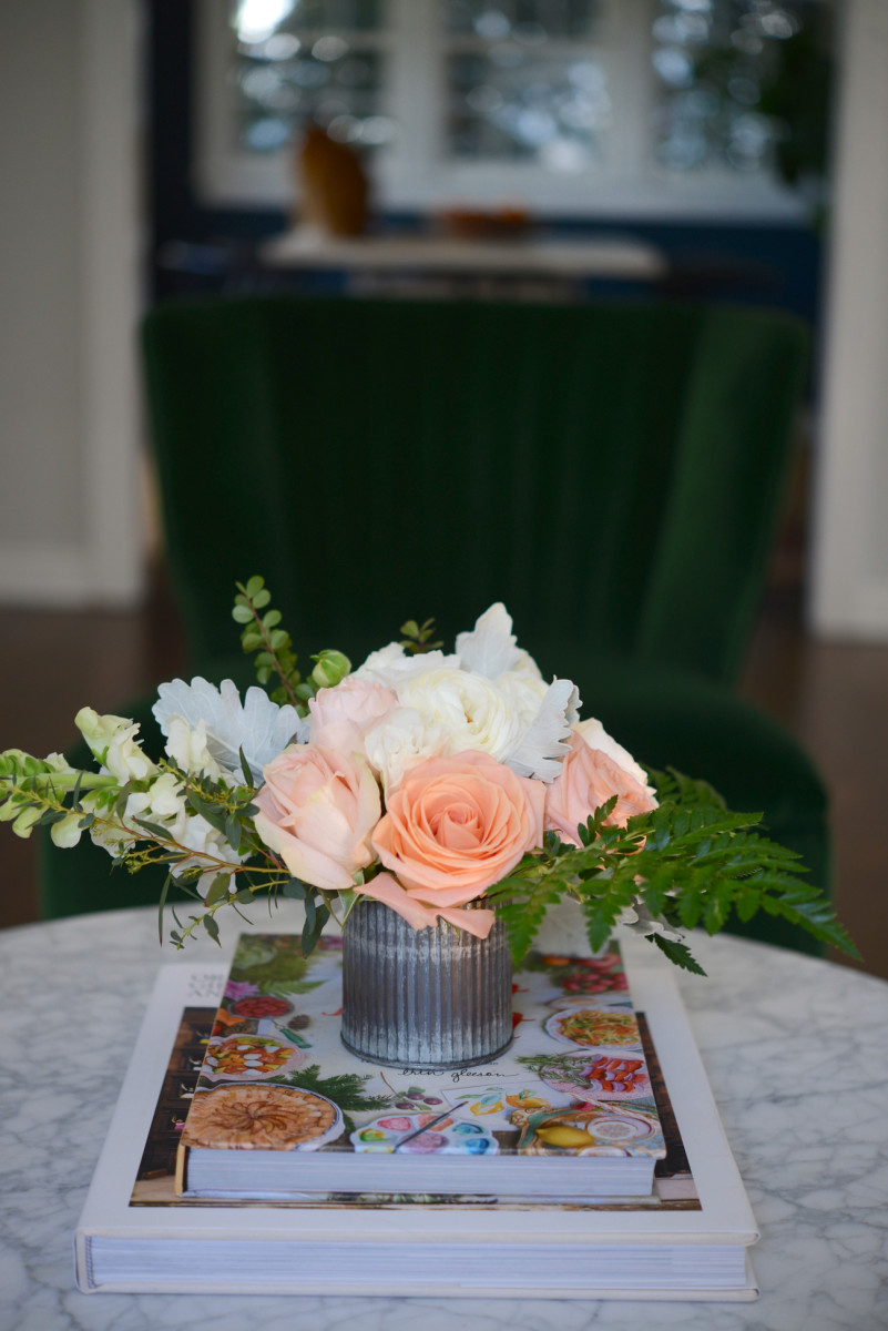 A pretty, muted bouquet from Valleybrink Road