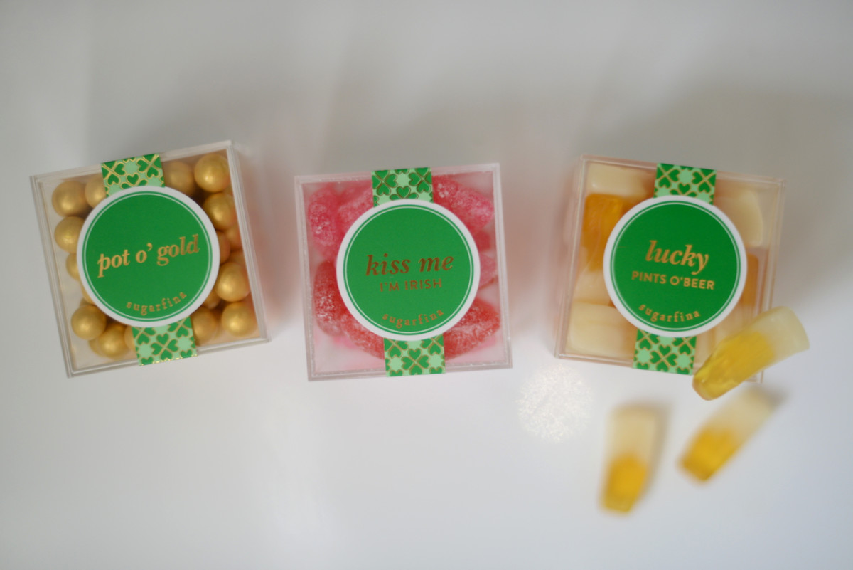 {The cutest St. Patrick's Day candies from Sugarfina c/o}