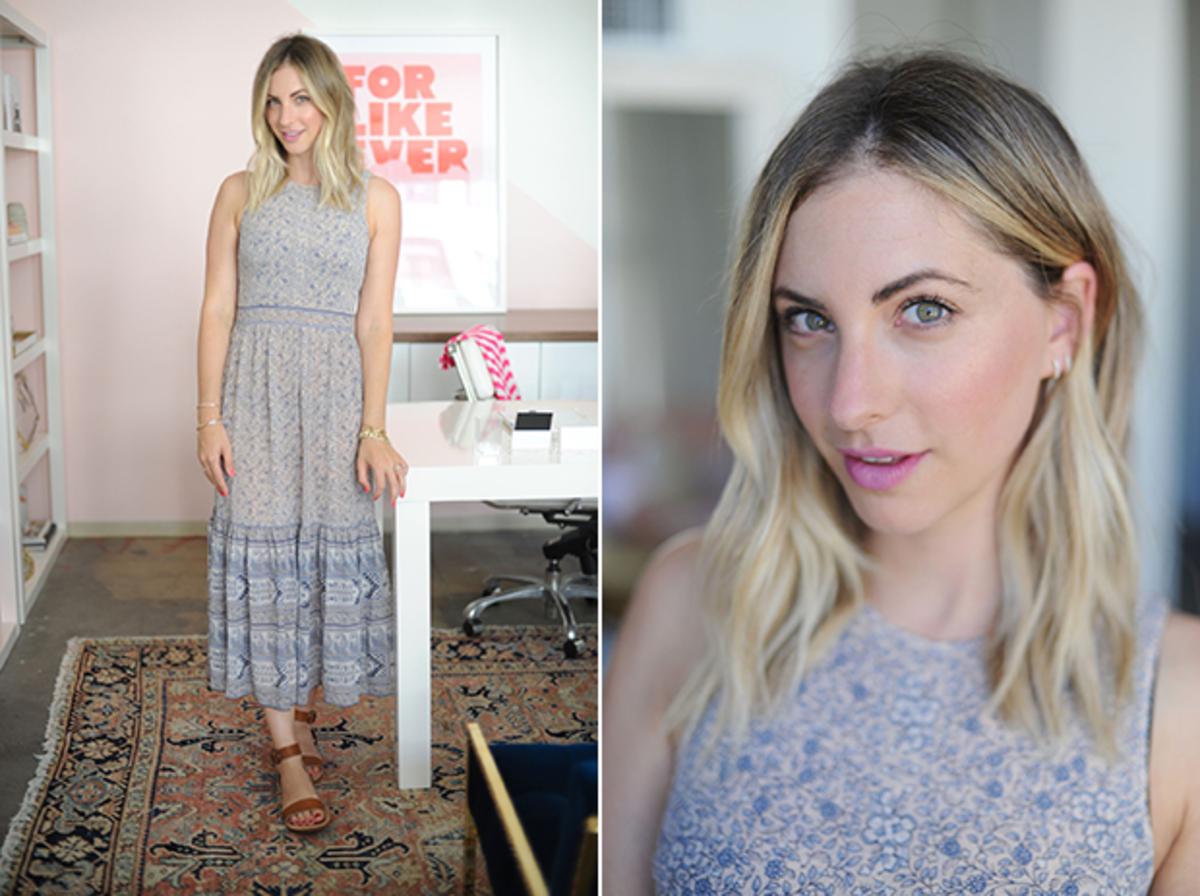 Thursday: Ulla Johnson Dress, Nars 'Vera' Lipstick, Steven Alan Sandals