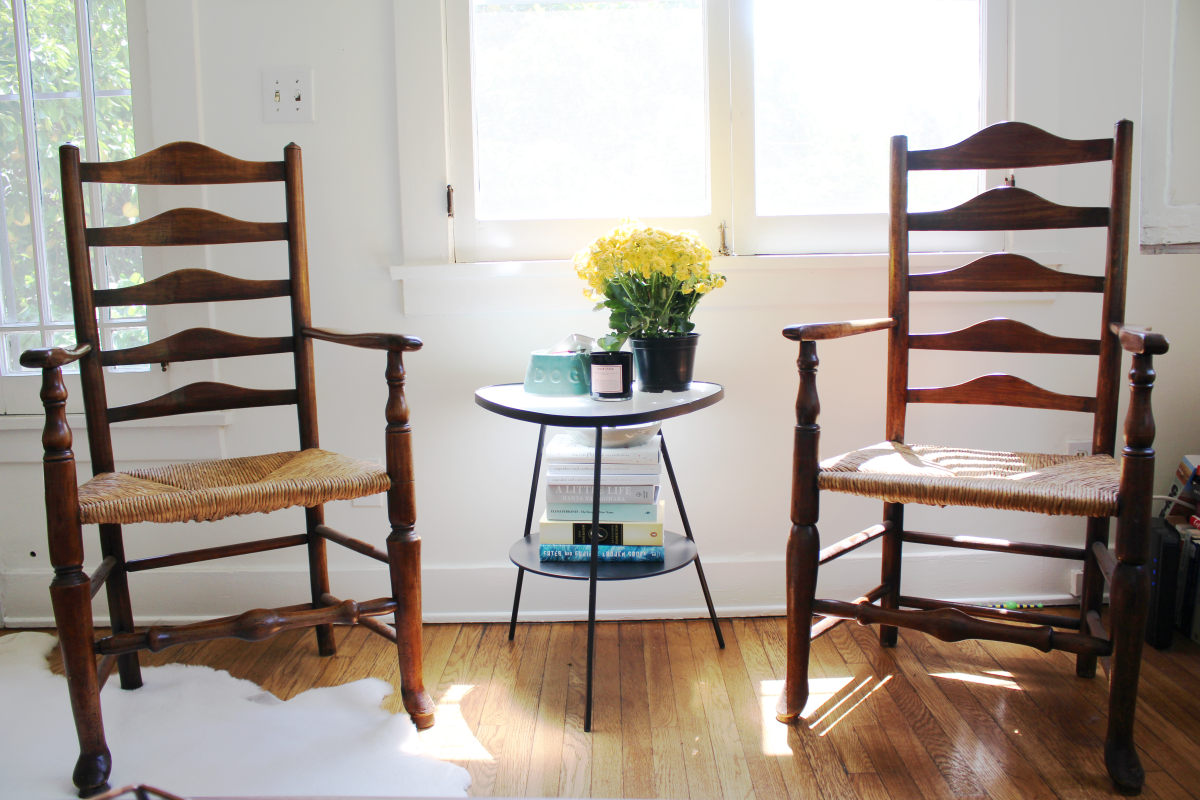 When a family member asks if you'd like their nice antique chairs, say yes.