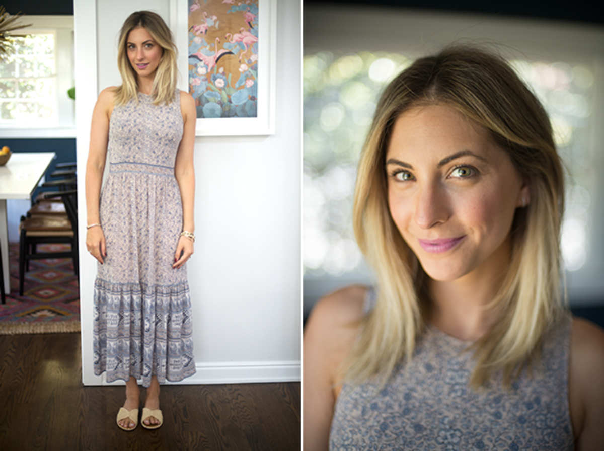 Friday: Ulla Johnson dress (similar options here), Carrie Forbesundefinedsandals