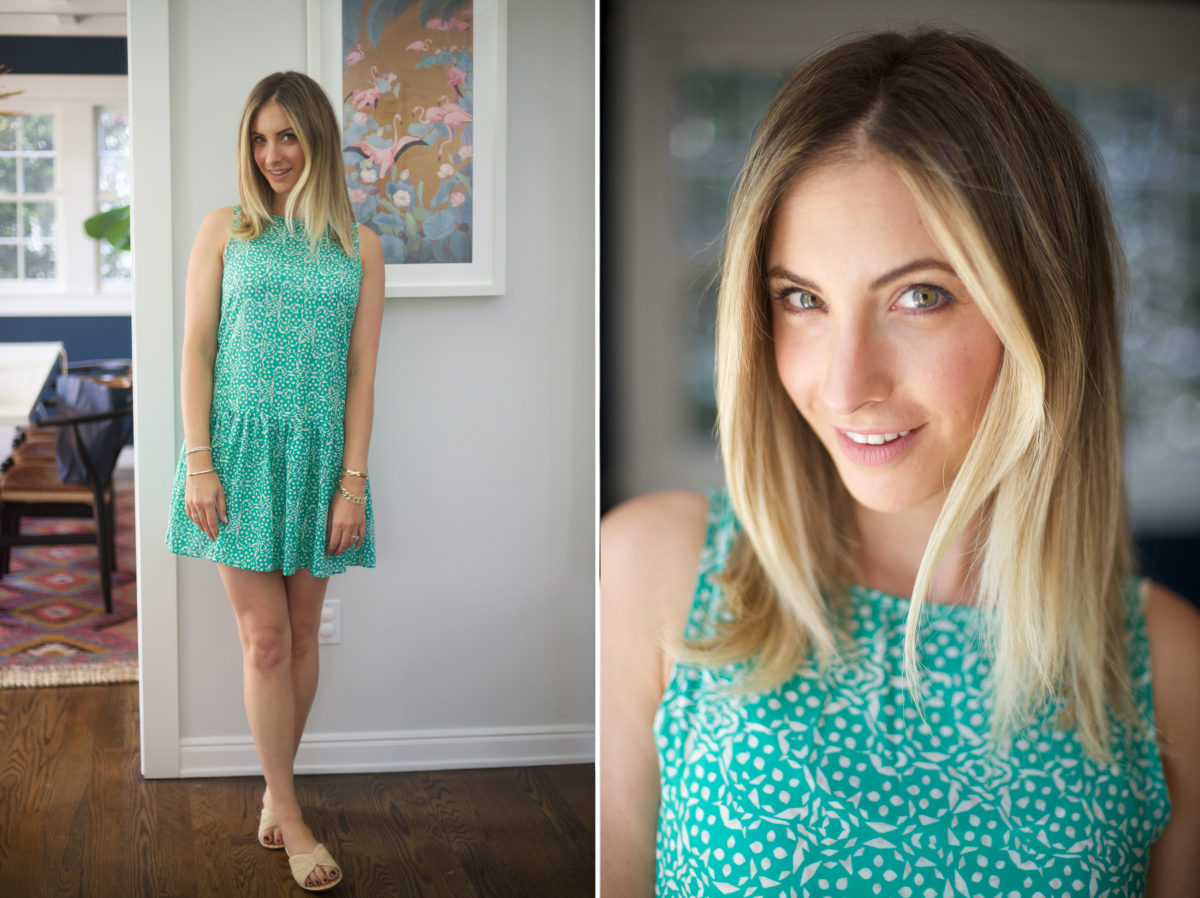 Friday: Cupcakes and Cashmere Dress, Carrie Forbes Sandals