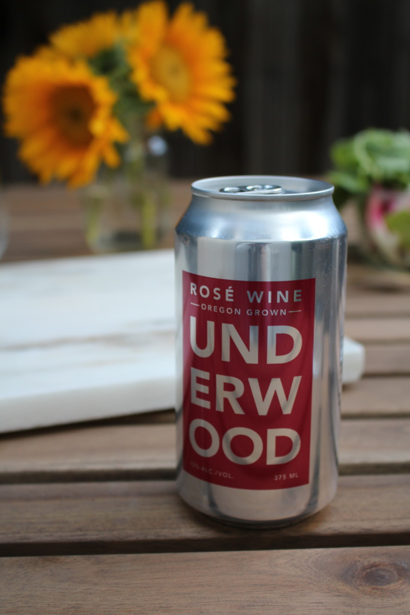 Underwood Rosé in a Can
