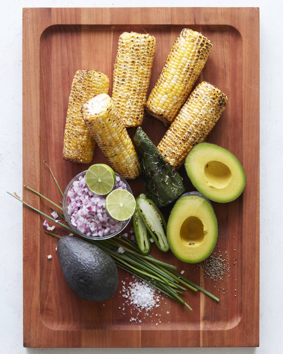 Cupcakes + Cashmere : Grilled Corn Avo Salsa.jpg