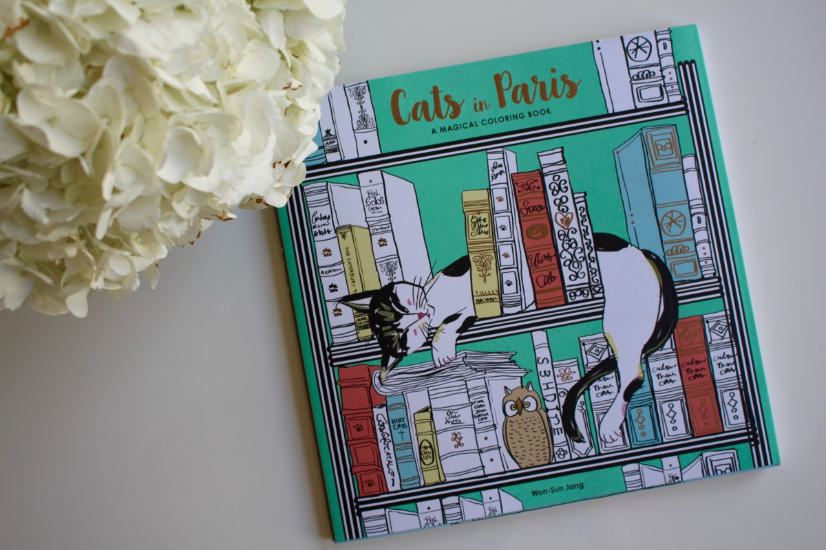 {Combining two of my favorite things: cats and Paris}