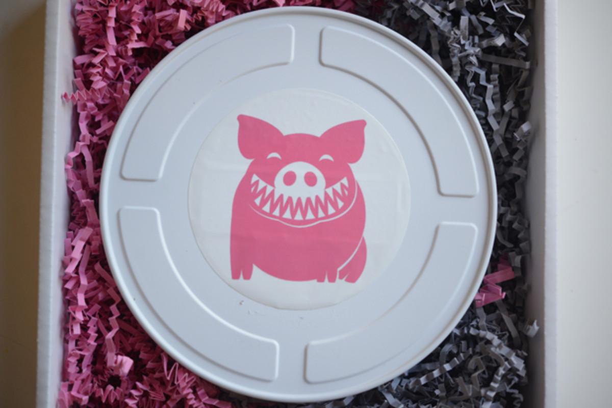 {Final wedding reel from Shark Pig, next step: projector}