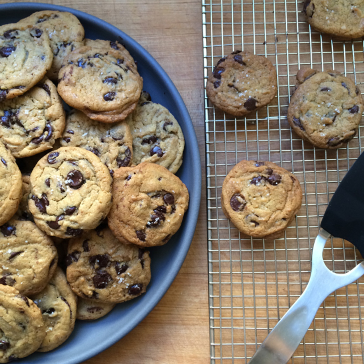 {The Best Chocolate Chip Cookies Ever I brought to my friend's Emmys party}