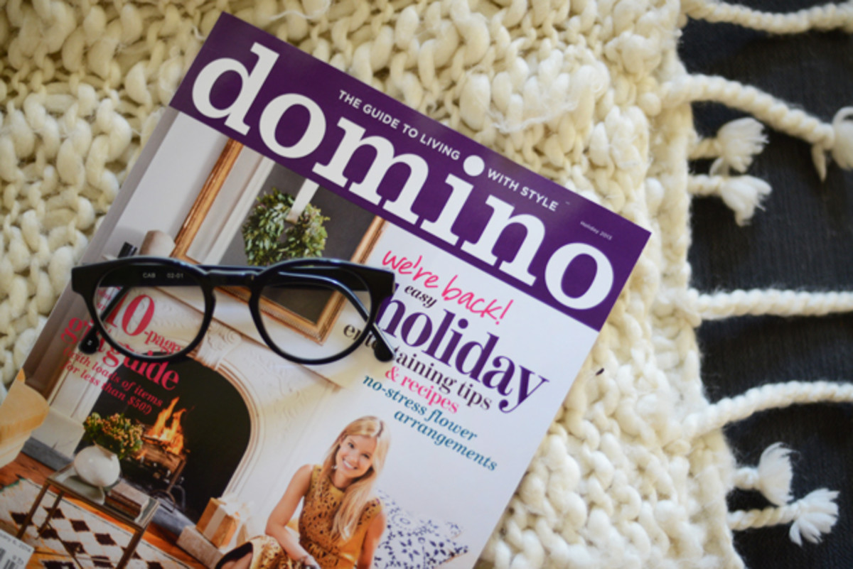 {Excited Domino Magazine is back}