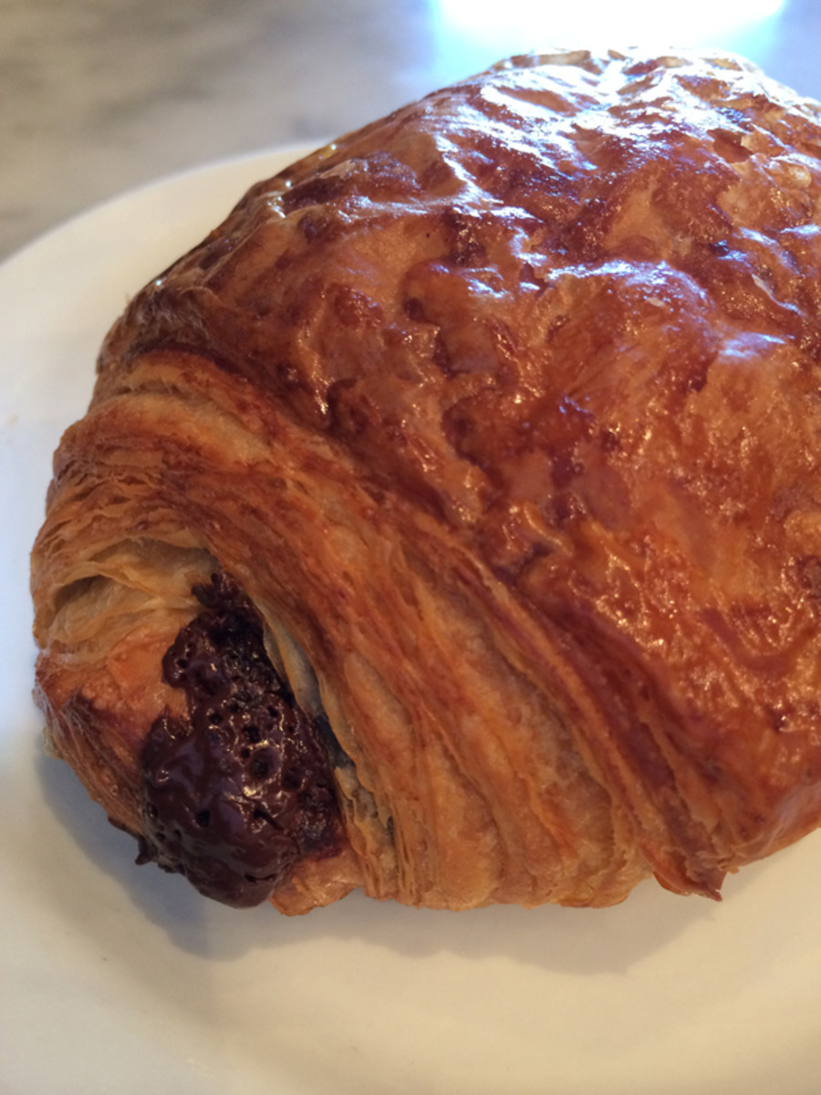 {The only chocolate croissant that matters, from Proof Bakery}