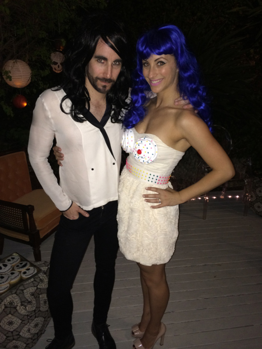 {Halloween 2013: Russell Brand + Katy Perry}