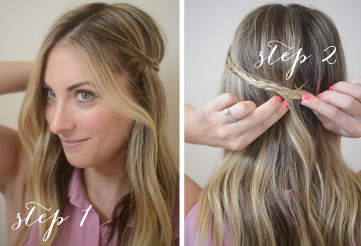 Easy Summer Hairstyles Cupcakes Cashmere