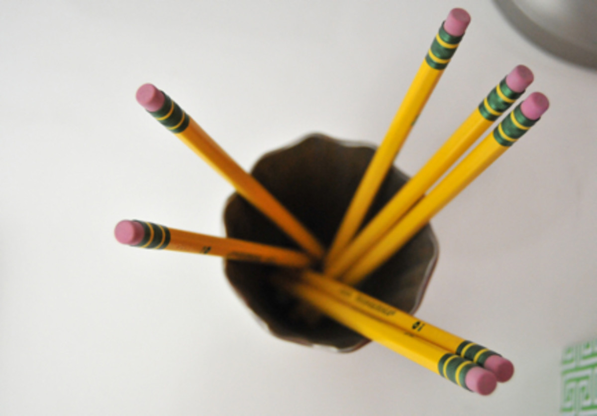 {There's something so nostalgic about classic, #2 pencils}
