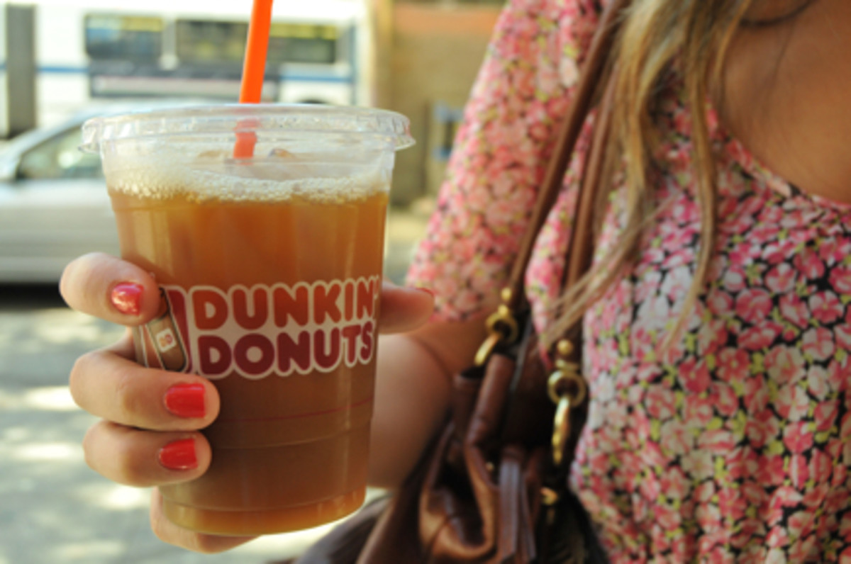 {Dunkin' Donuts Iced Coffee}