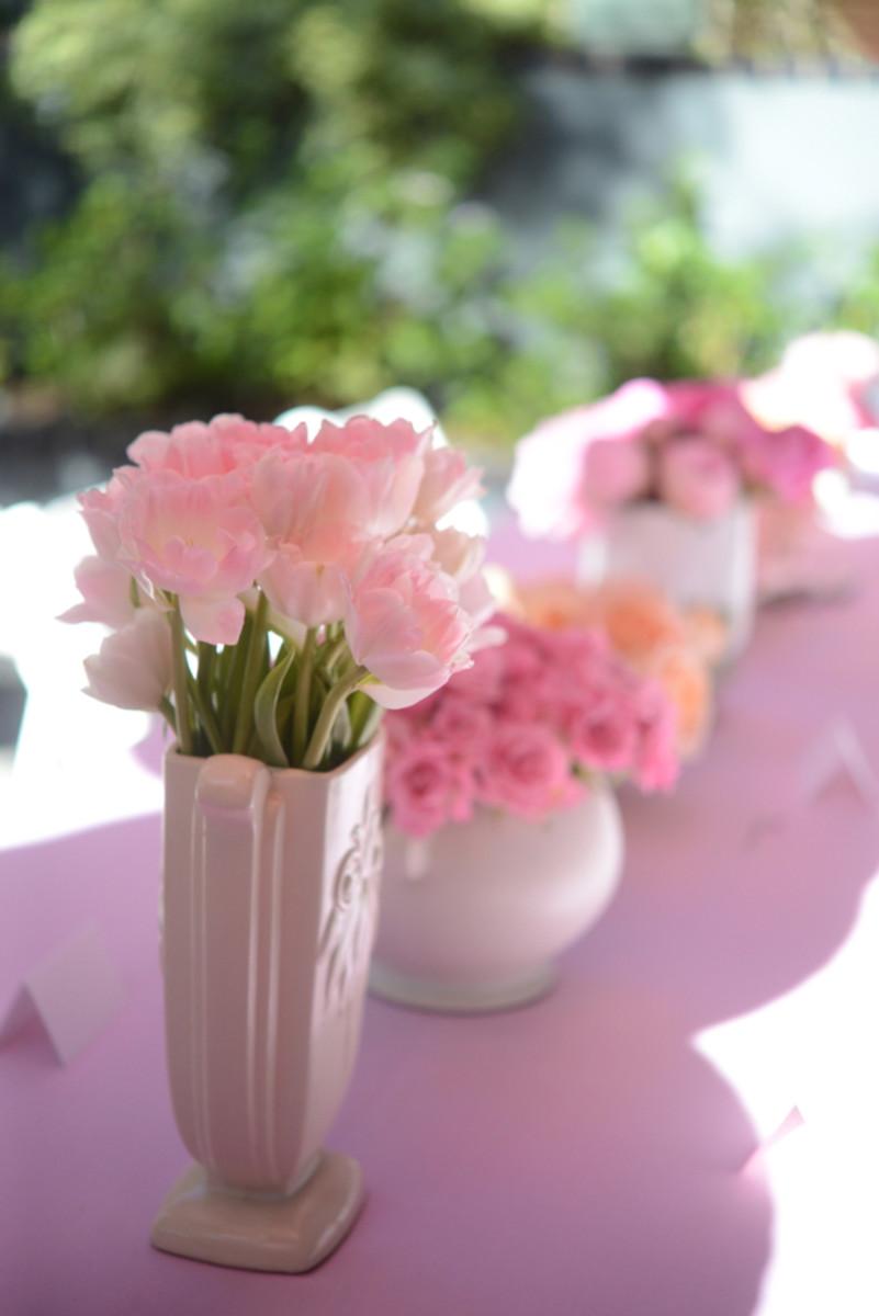 {Floral arrangements}