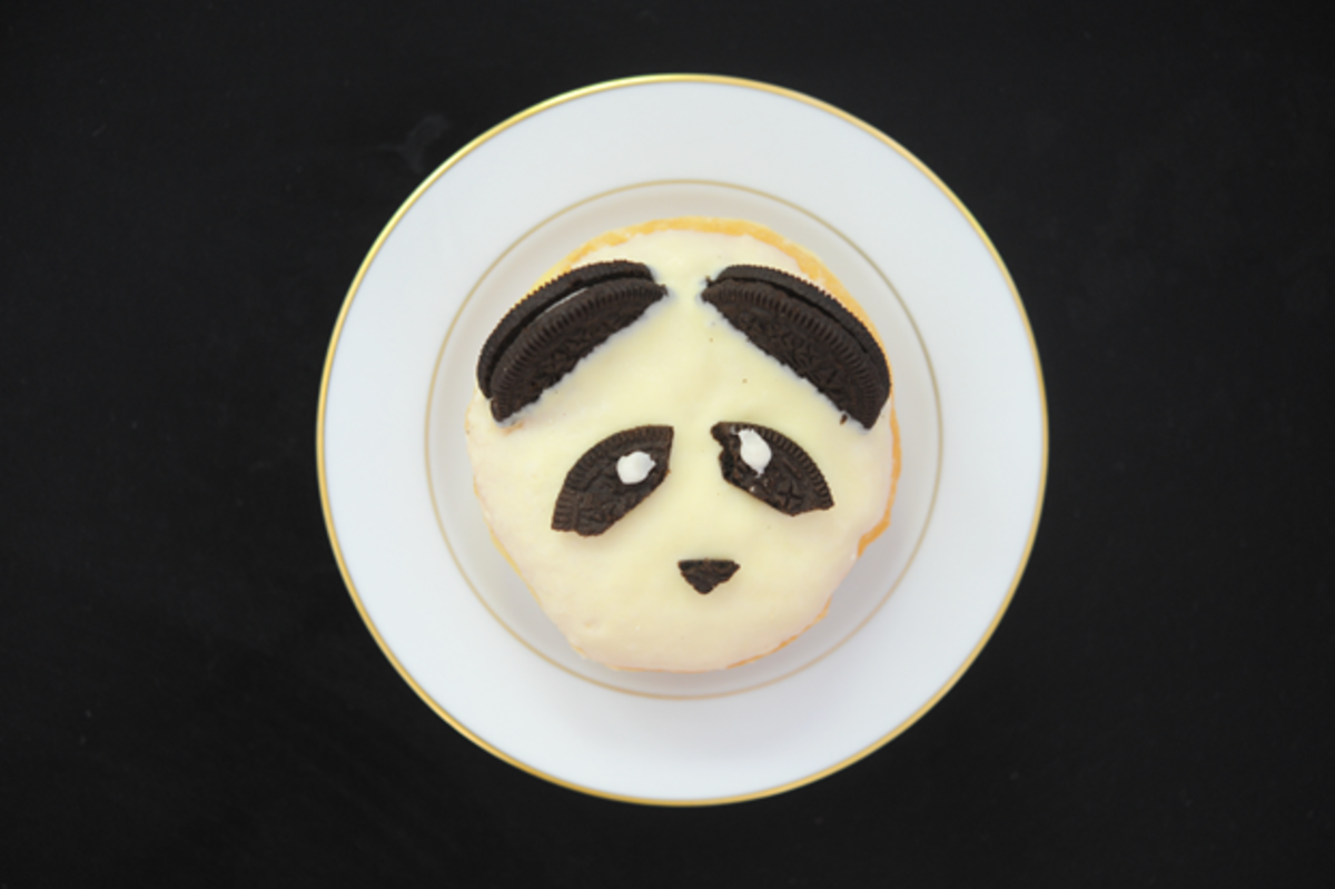 {The most adorable panda donut}