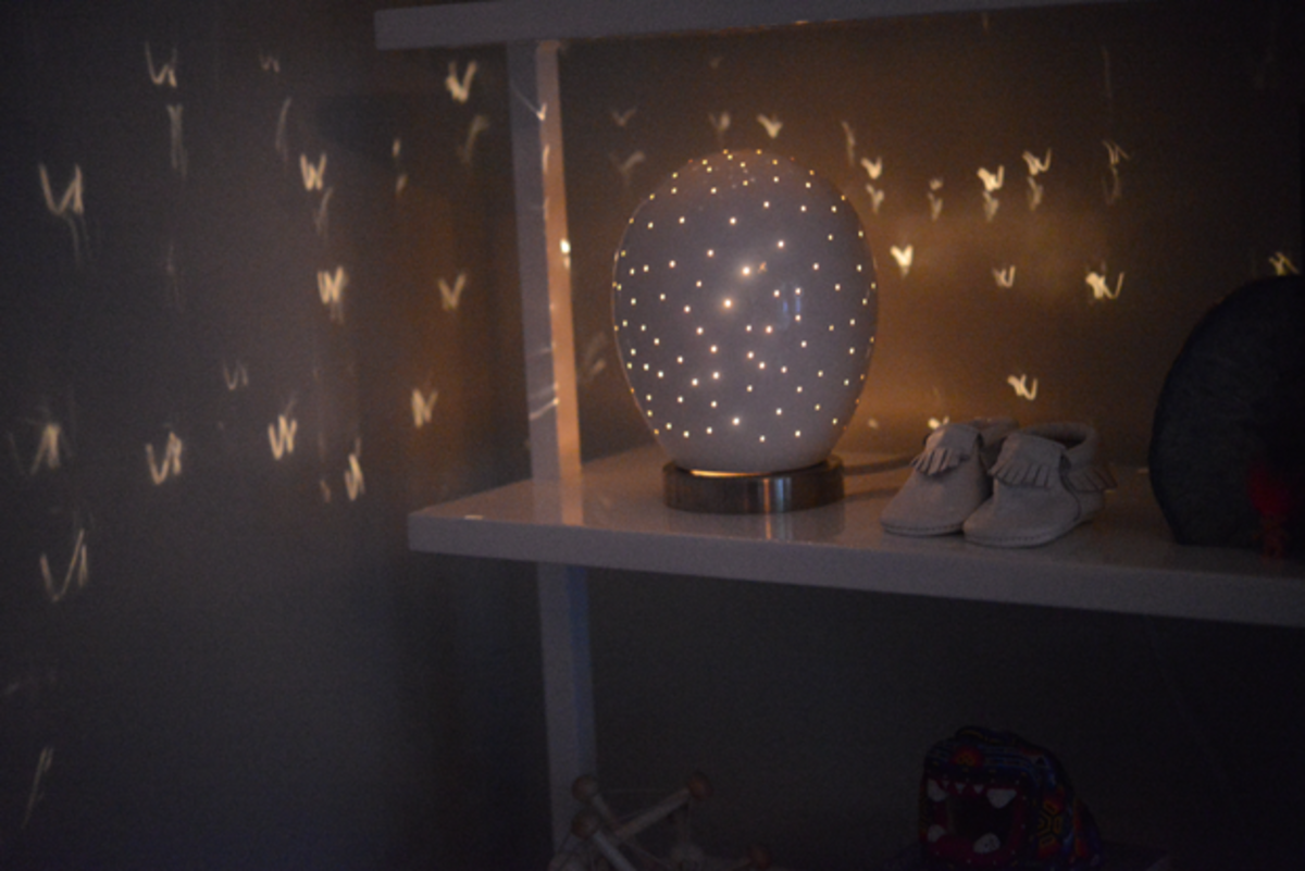 {Nursery nightlight that I'd happily have in my room}