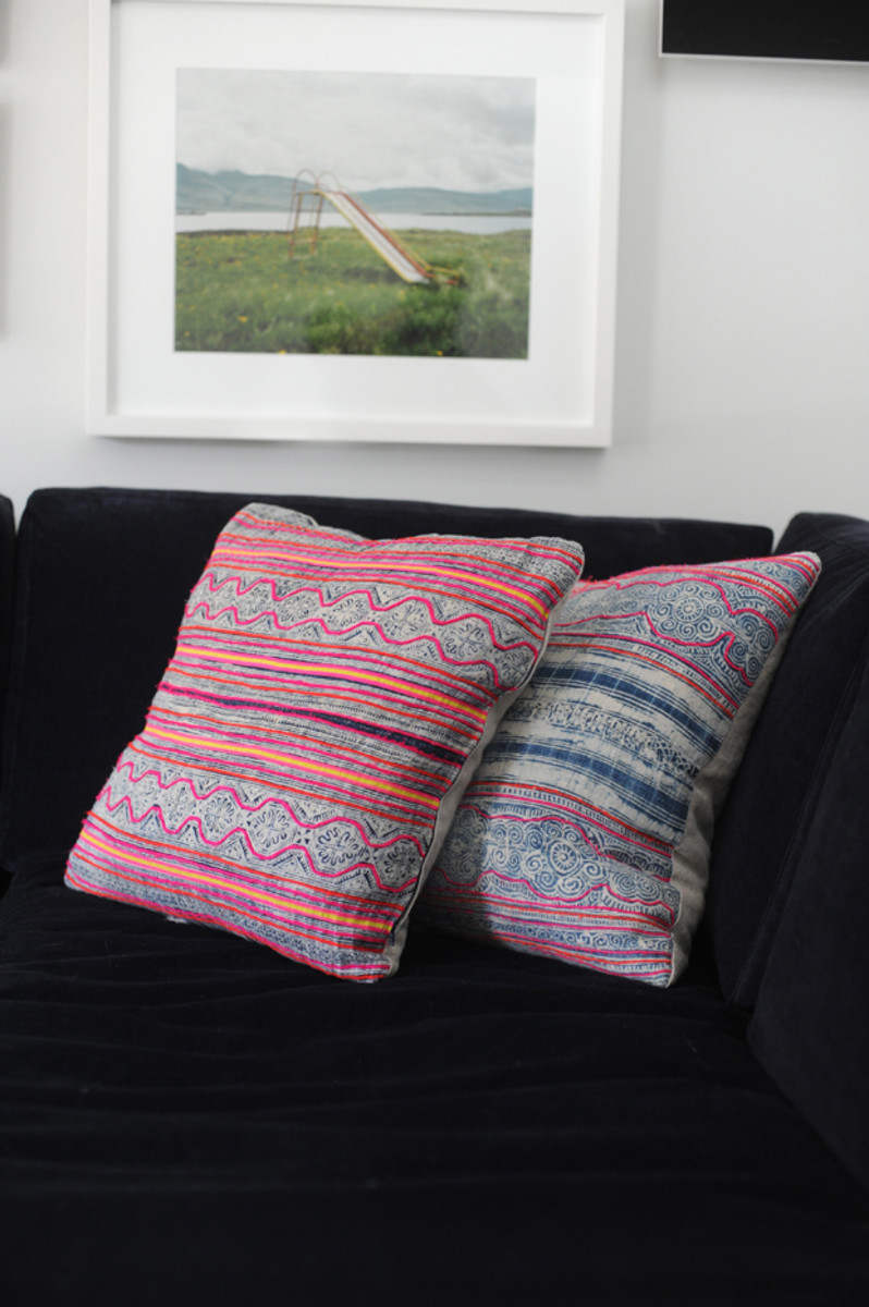 {Pillows from Amber Interiors}