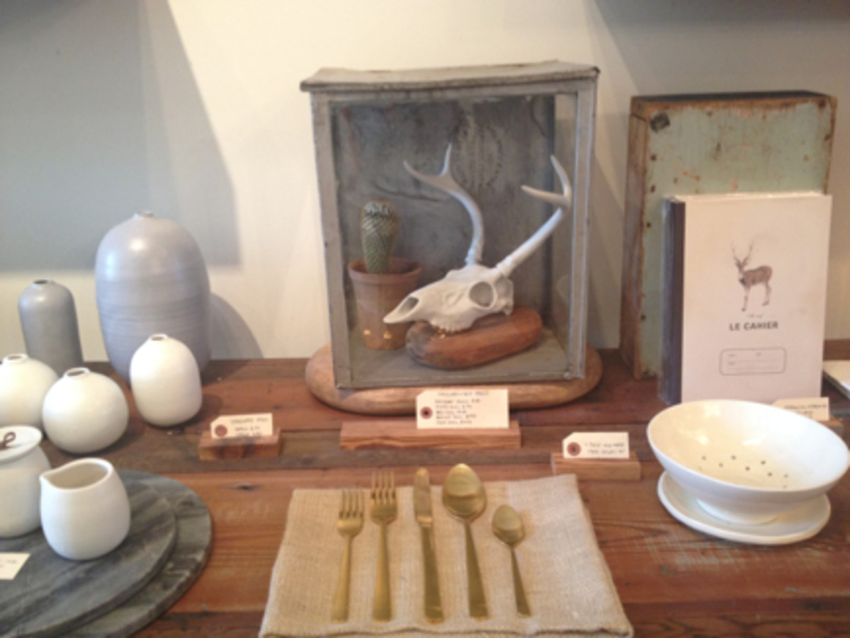 {Shopping for jewelry and home goods at Bows + Arrows}