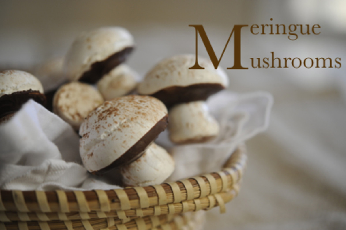 Meringue Mushrooms Are A Tradition Of Sorts In Our Home. My Mom Makes Them  Anytime Thereu0027s A Shower And I Think Theyu0027re Absurdly Cute.