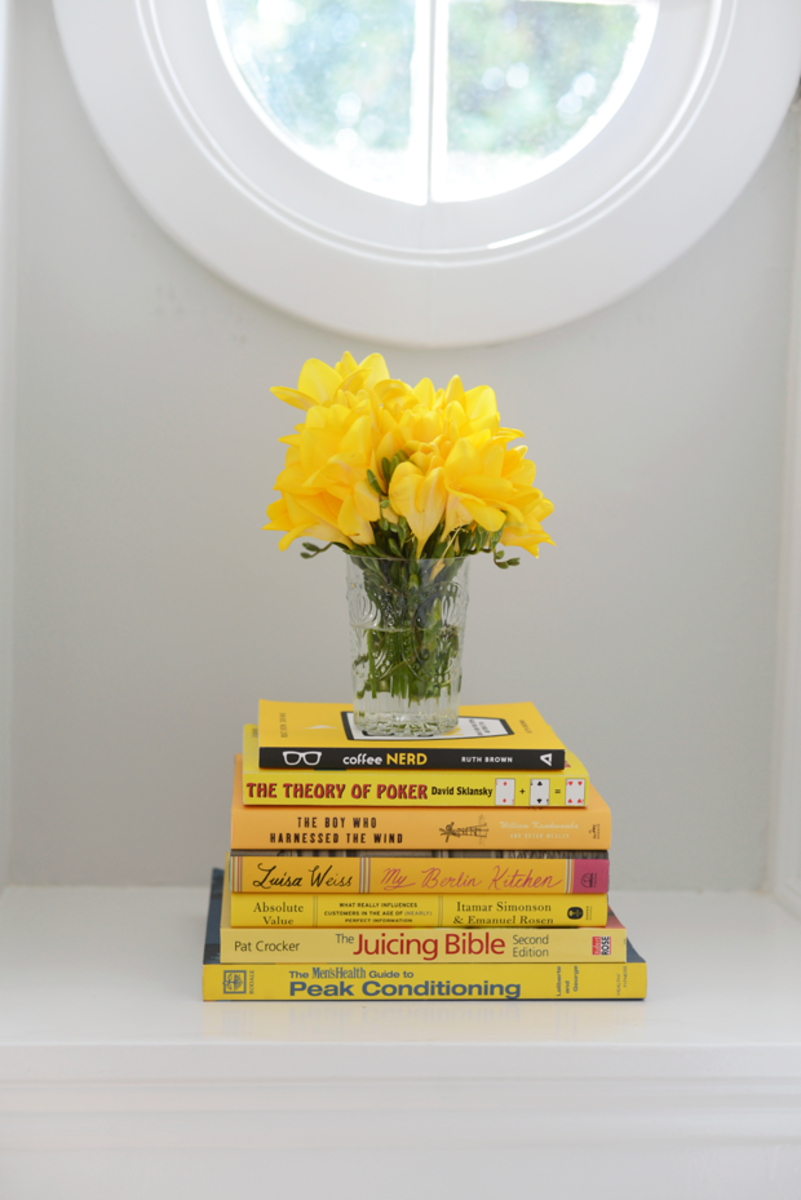 {Filling the house with cheerful, yellow moments}