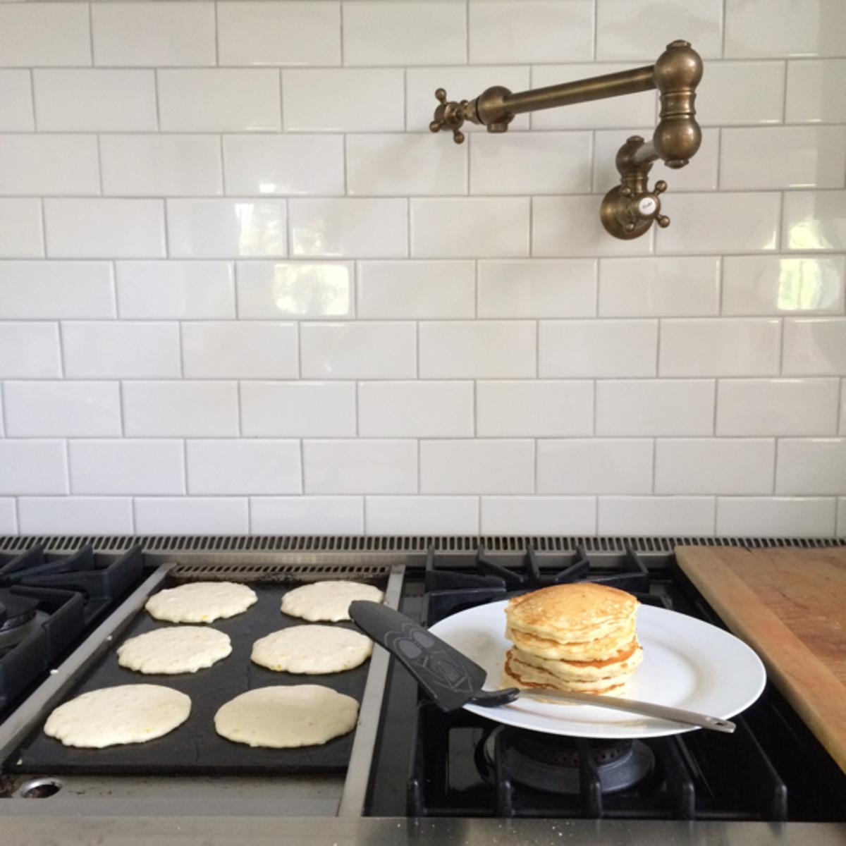 {Pancakes for dinner}