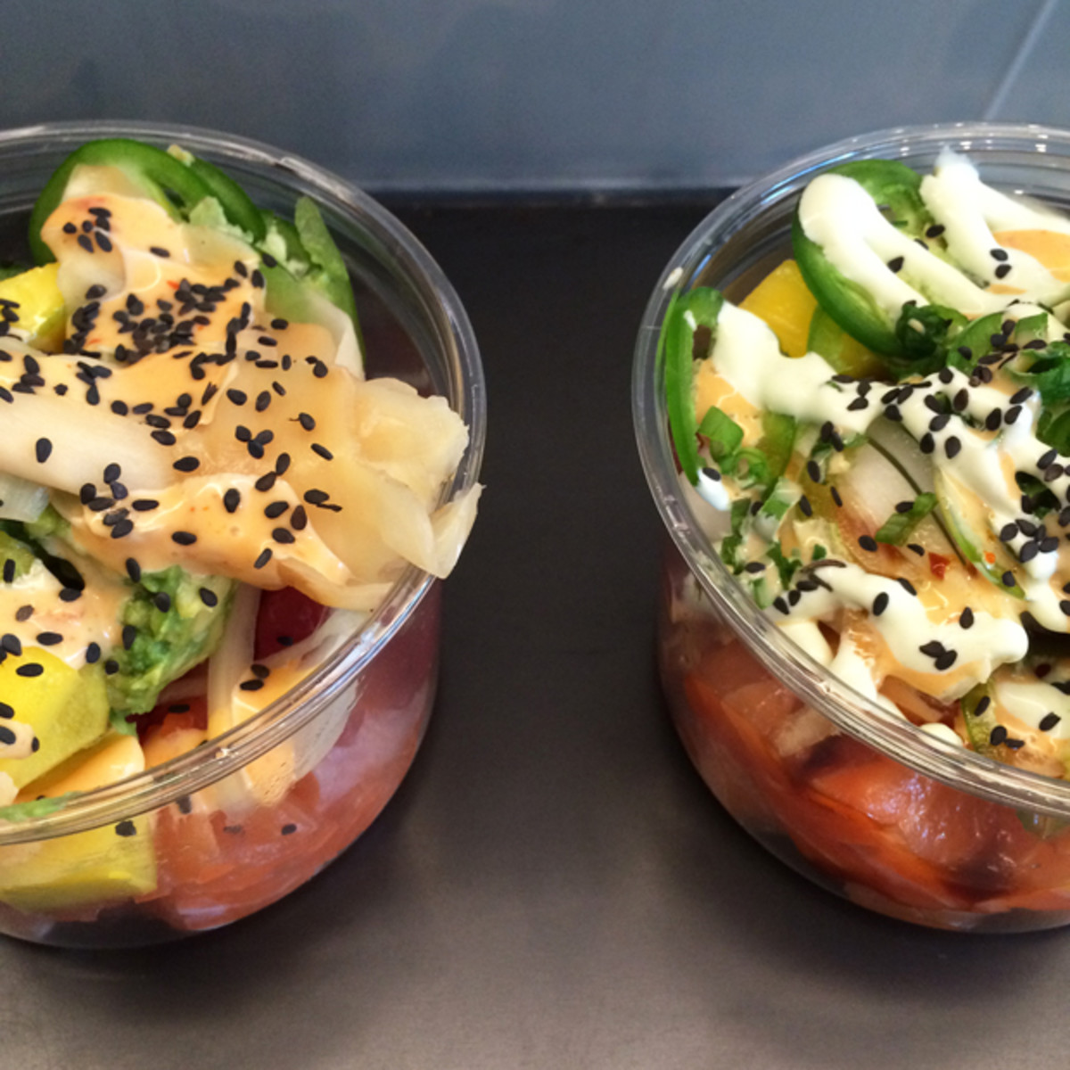 {New obsession: Build-Your-Own Poke Bowl}
