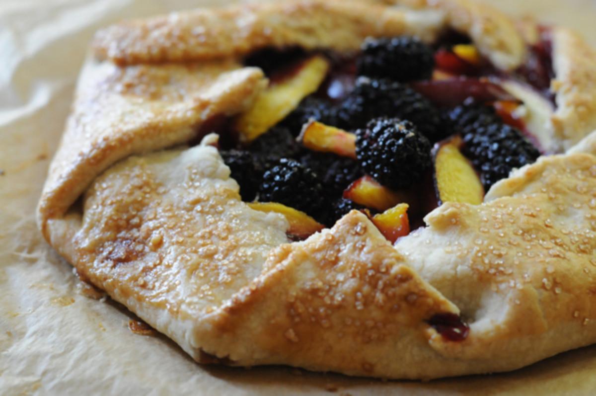 blackberry-nectarine-galette