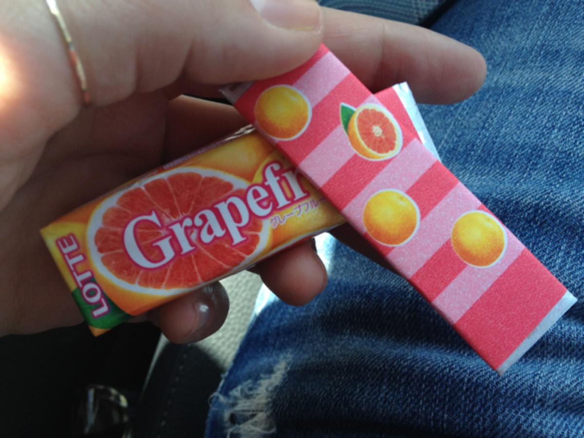 grapefruit-gum