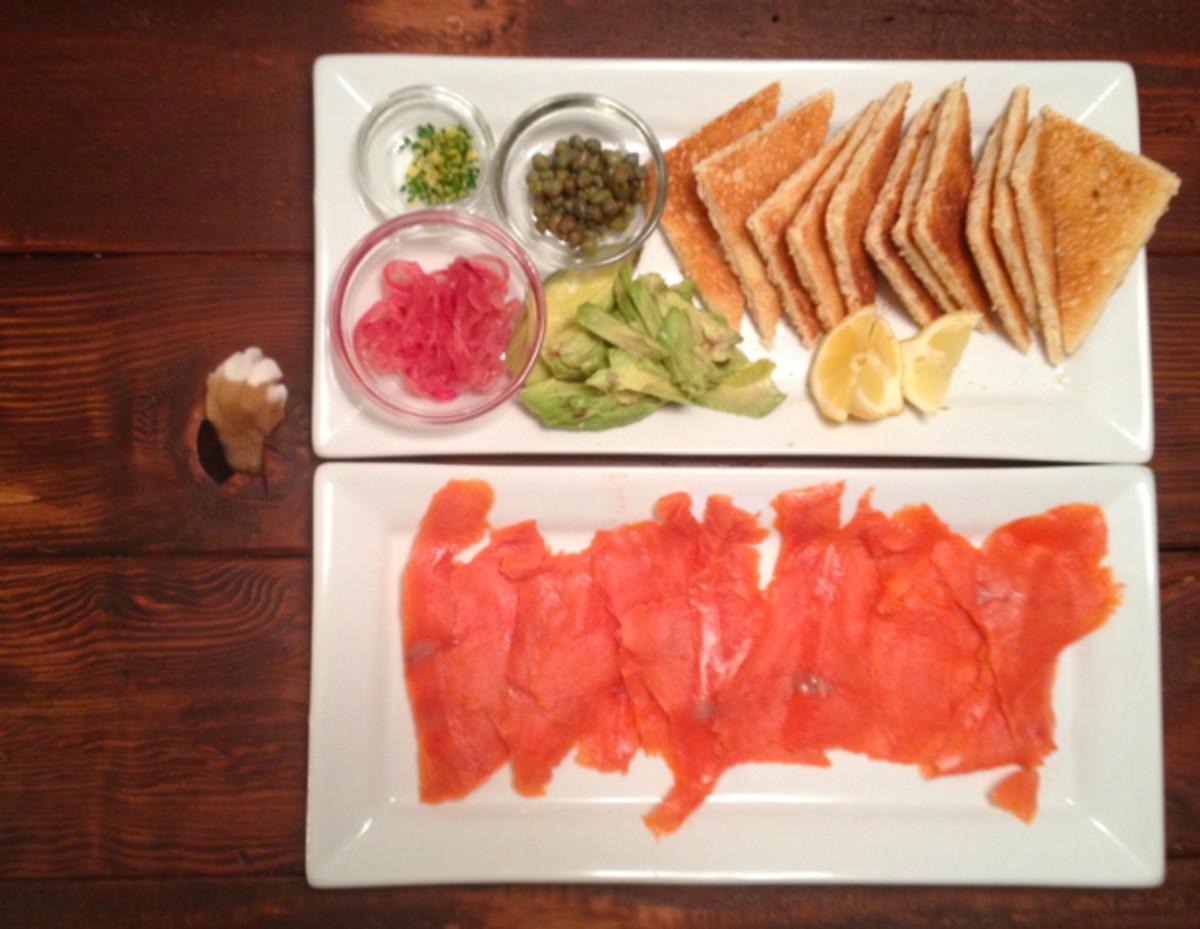 salmon-platter